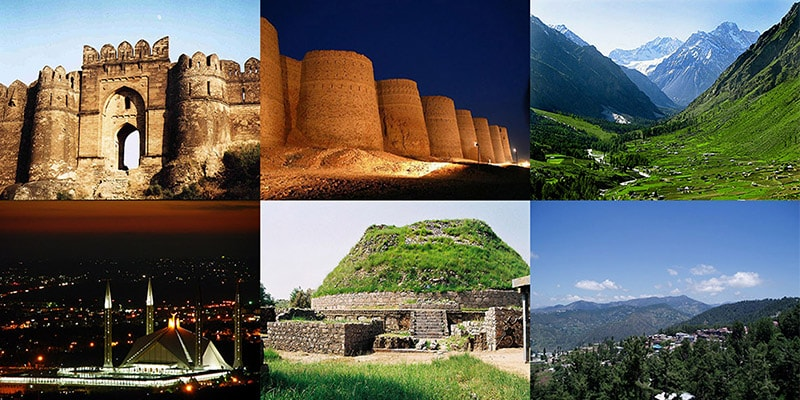 5 Beautiful Places in Pakistan for Tourist
